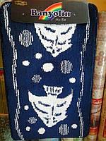 "Набор ковриков для ванной ""Banyolin"", темно-синий рыбки, производство Турция, фото 1"