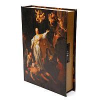 """Книга-сейф тайник для денег BST 480017 35×26×7 см разноцветная """"Фемида"""""""