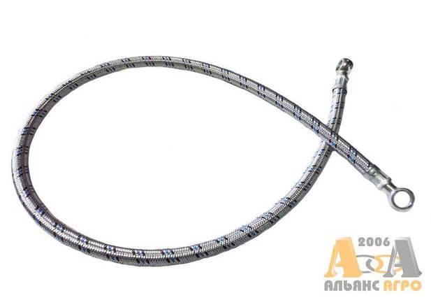 Трубка паливна в металевій обплітці L=1045 мм МТЗ 240-1104160-01 (JFD), фото 2