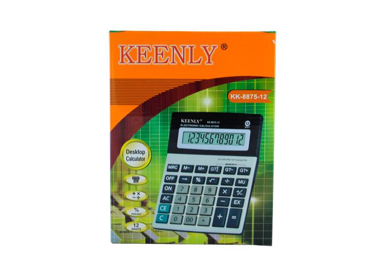 Калькулятор, KEENLY KK-8875-12, калькулятор для алгебры.Надежный, простой калькулятор