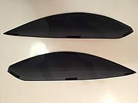 Реснички (накладки фар) Kia Rio III 2010 (Киа Рио 3)