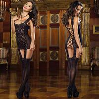 Сексуальный красивый ажурный комплект №124