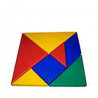 Конструктор Танграм квадрат, фото 1