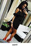 Сукня туніка ВІРОЧКА гумка кишеню волан 42 44 46 48 50 Р, фото 5