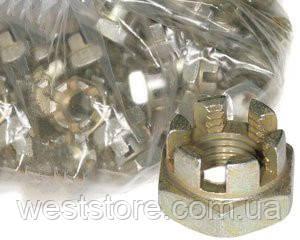 Гайка 14х1,5 корончатая рулевой тяги Ваз 2101-07 Белебей