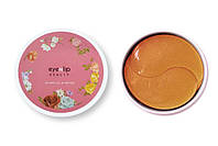 Гидрогелевые патчи с лососевым маслом и пептидами Eyenlip Hydrogel Eye Patch Salmon Oil & Peptide, 60 шт