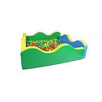 Детский сухой бассейн Волна