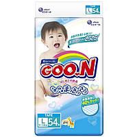 Подгузник GOO.N для детей 9-14 кг (L, унисекс, на липучках, 54 шт) (853623)