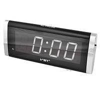 Часы электронные сетевые VST 730-6 Белое свечение
