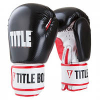Оригинальные Детские Боксерские Перчатки TITLE Vengeance Youth Boxing Gloves - Black/White