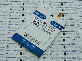 Батарея аккумуляторная NB-5530 Nomi Space X i5530 343439 Сервисный оригинал с разборки (до 10% износа)