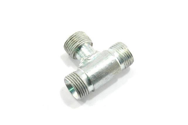 Штуцер соединения соединительный S24 (тройной) (укр), фото 2
