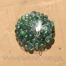 Камни стекло зеленые 400 грамм