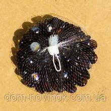 Камни коричневые стекло 400 грамм