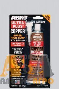 Герметик прокладок силіконовий ABRO, червоний, 32 гр.