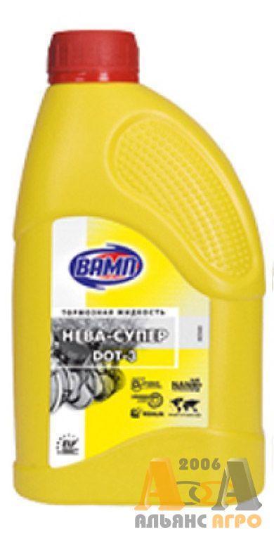 Жидкость тормозная ВАМП Нева-Супер (канистра 1л)