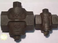 Кран пробковый проходной натяжной муфтовый 11ч3бк  Ду25, Ду32, Ду40,Ду50, Ду65  Ру1