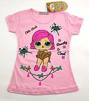 Детская футболка 1 2 года Турция для девочки майка детские футболки майки на девочку