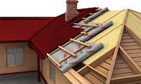 Укладка гидроизоляции, укладка гидроизоляции кровли крыши дома