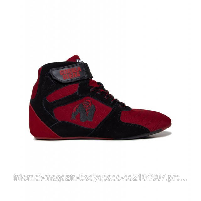 "Gorilla Wear, Кроссовки Chicago High Tops - Black/Red ""Limited"""