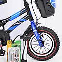 Велосипед детский HAMMER S500 12″ дюймов (Красный), фото 4