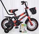Велосипед детский HAMMER S500 12″ дюймов (Красный), фото 2