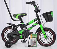 Велосипед детский HAMMER S500 12″ дюймов (Зеленый)