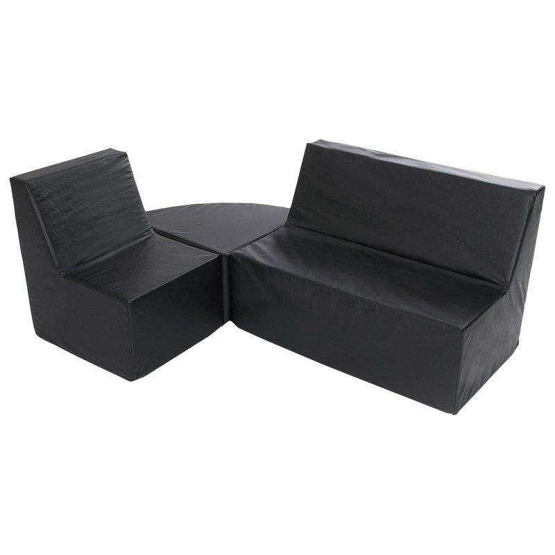 Комплект мебели Черный