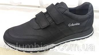 Кроссовки кожаные без шнурков