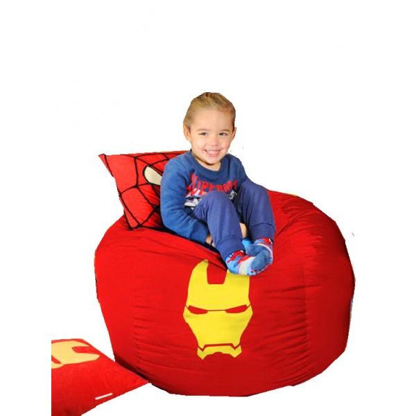 Кресло мешок мяч Железный человек