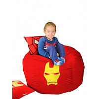 Кресло мешок мяч Железный человек, фото 1