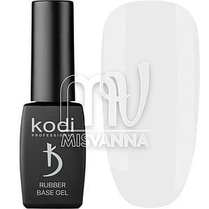 База каучуковая Kodi Professional White, 8 мл белая