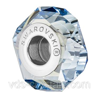 Бусины Пандора Swarovski crystals 5929 Crystal Blue Shade (упаковка 12 шт)