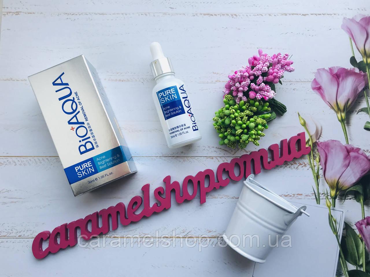 Сыворотка от акне и воспаления Pure Skin BioAqua Anti Acne Объем 30 мл