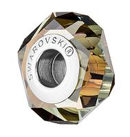 Бусина Сваровски в стиле Pandora 5929 Crystal Bronze Shade (упаковка 12 шт), фото 1