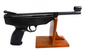 Пневматический пистолет Weihrauch HW70