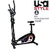 Орбитрек с сиденьем USA Style XXX341 магнитный, 2 в 1