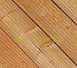 Террасная палубная доска из сибирской лиственницы размер Ширина 90мм, Толщина 22мм, Сорт Экстра, фото 5