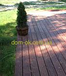 Террасная палубная доска из сибирской лиственницы размер Ширина 90мм, Толщина 22мм, Сорт Экстра, фото 7
