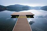 Террасная палубная доска из сибирской лиственницы размер Ширина 90мм, Толщина 22мм, Сорт Экстра, фото 9