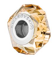 Бусина Swarovski в стиле Pandora 5929 Crystal Golden Shadow (упаковка 12 шт)