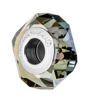 Бусина Сваровски в стиле Pandora 5929 Crystal Iridescent Green (упаковка 12 шт)