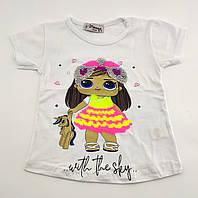 Детская футболка  2 3 и 4 года Турция для девочки майка детские футболки майки на девочку