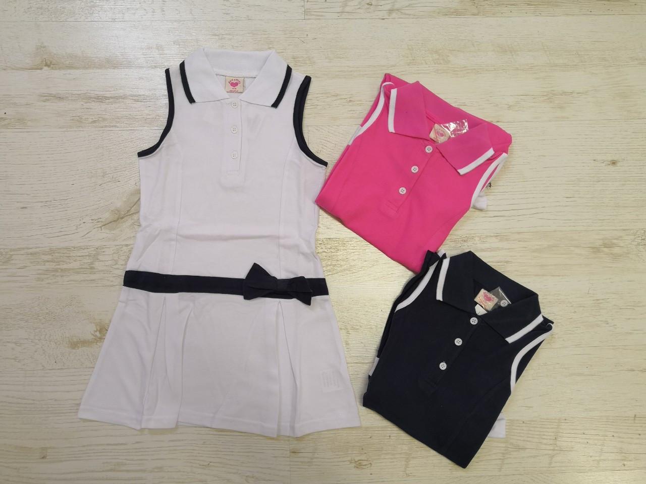 Платье для девочек оптом, размеры 98-128, Glo-story. арт. GYQ-5900