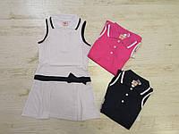 Платье для девочек оптом, размеры 98-128, Glo-story. арт. GYQ-5900, фото 1