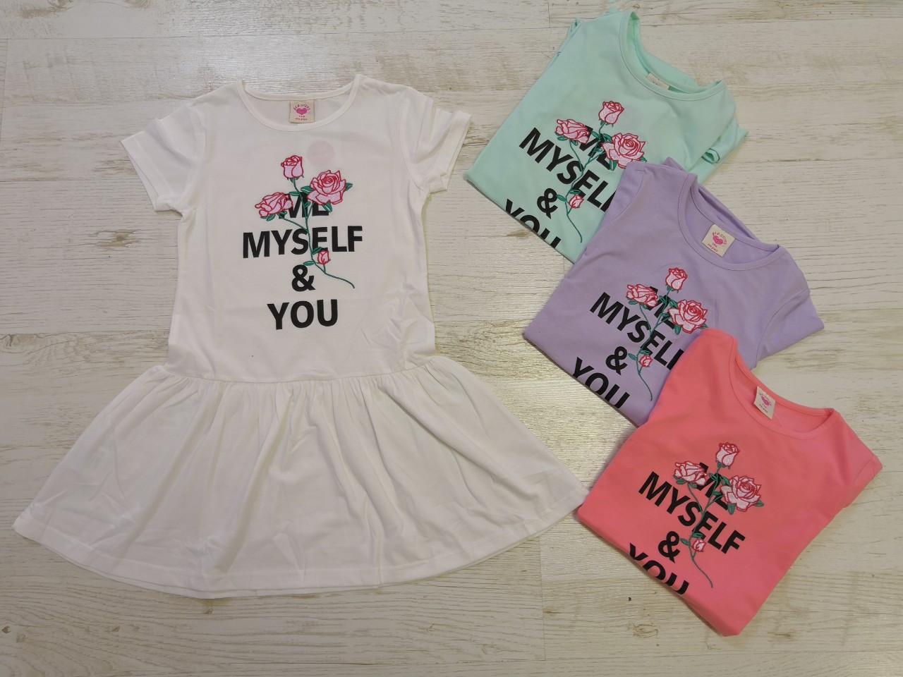 Платье для девочек оптом, размеры 98-128, Glo-story. арт. GYQ-5903