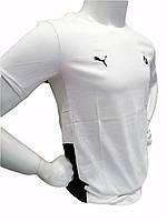 Футболка брендовая мужская в стиле BMW турецкого производства Белая
