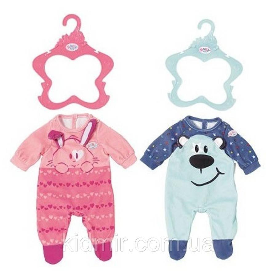 Беби Борн Одежда для куклы Стильный комбинезон (в ассортименте) Baby Born Zapf Creation 824566