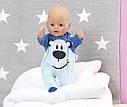 Беби Борн Одежда для куклы Стильный комбинезон (в ассортименте) Baby Born Zapf Creation 824566, фото 8