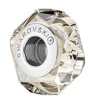 Хрустальные бусины Сваровски 5929 Crystal Silver Shade (упаковка 12 шт), фото 1